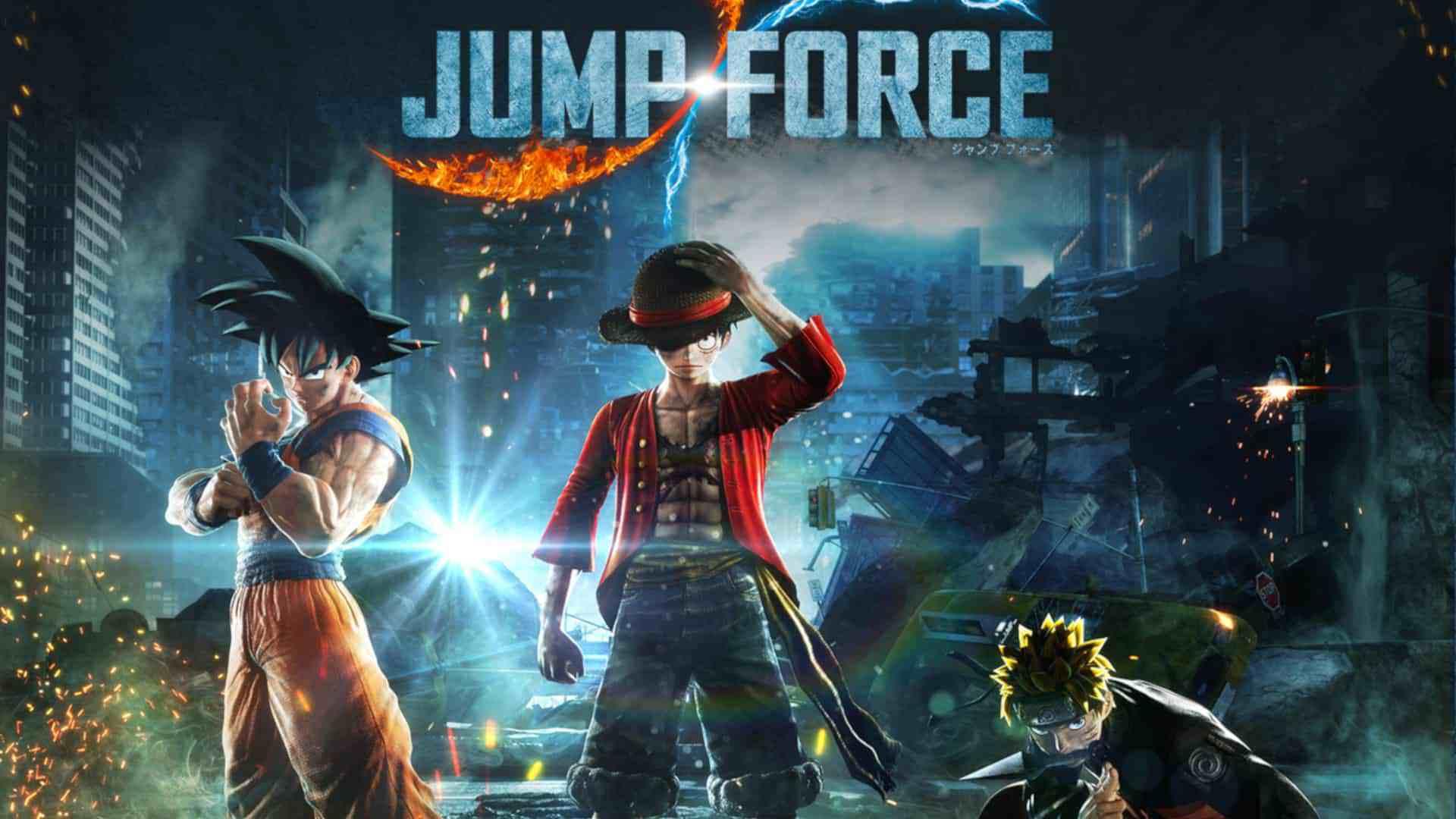 Beta Aberto De Jump Force Começa Nesta Semana
