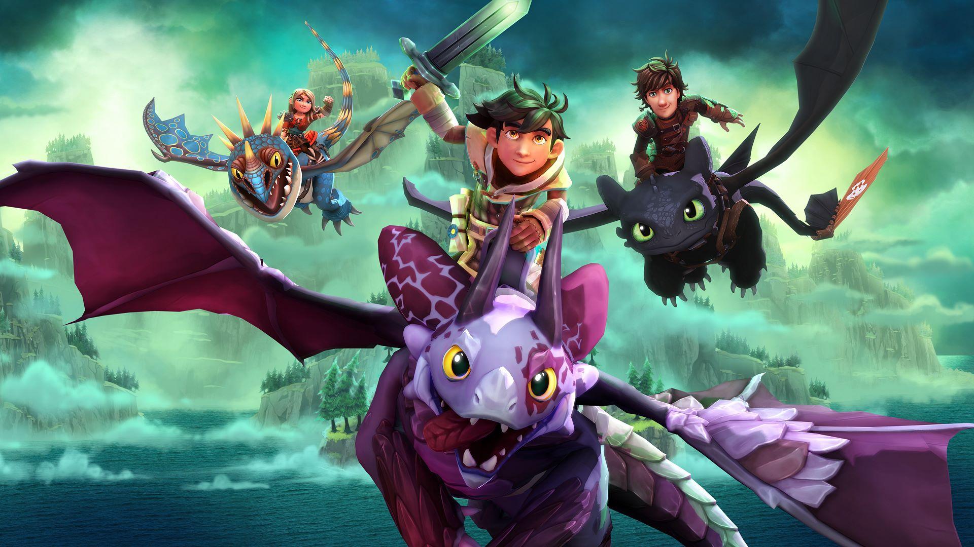 Red Nova Dragon Wallpaper DreamWorks Dragons Daw...
