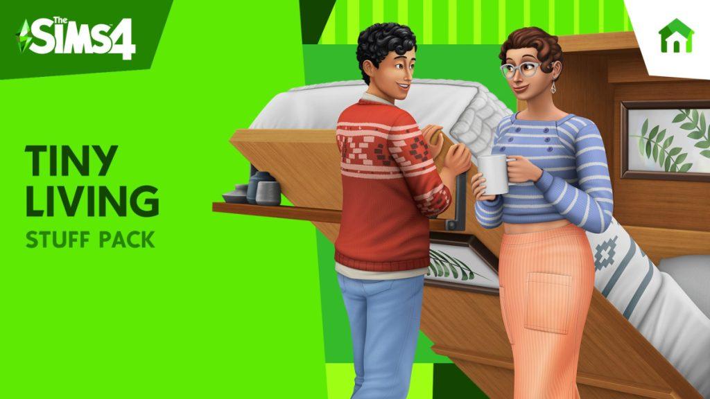 The-Sims-4-Tiny-Living lançamentos para xbox one