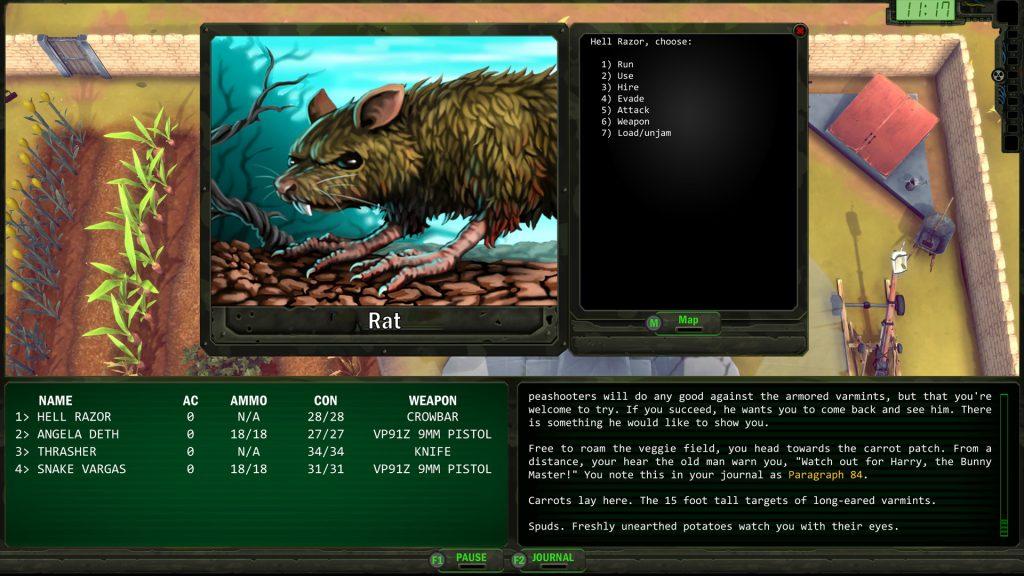 Wasteland Remastered screenshot 2