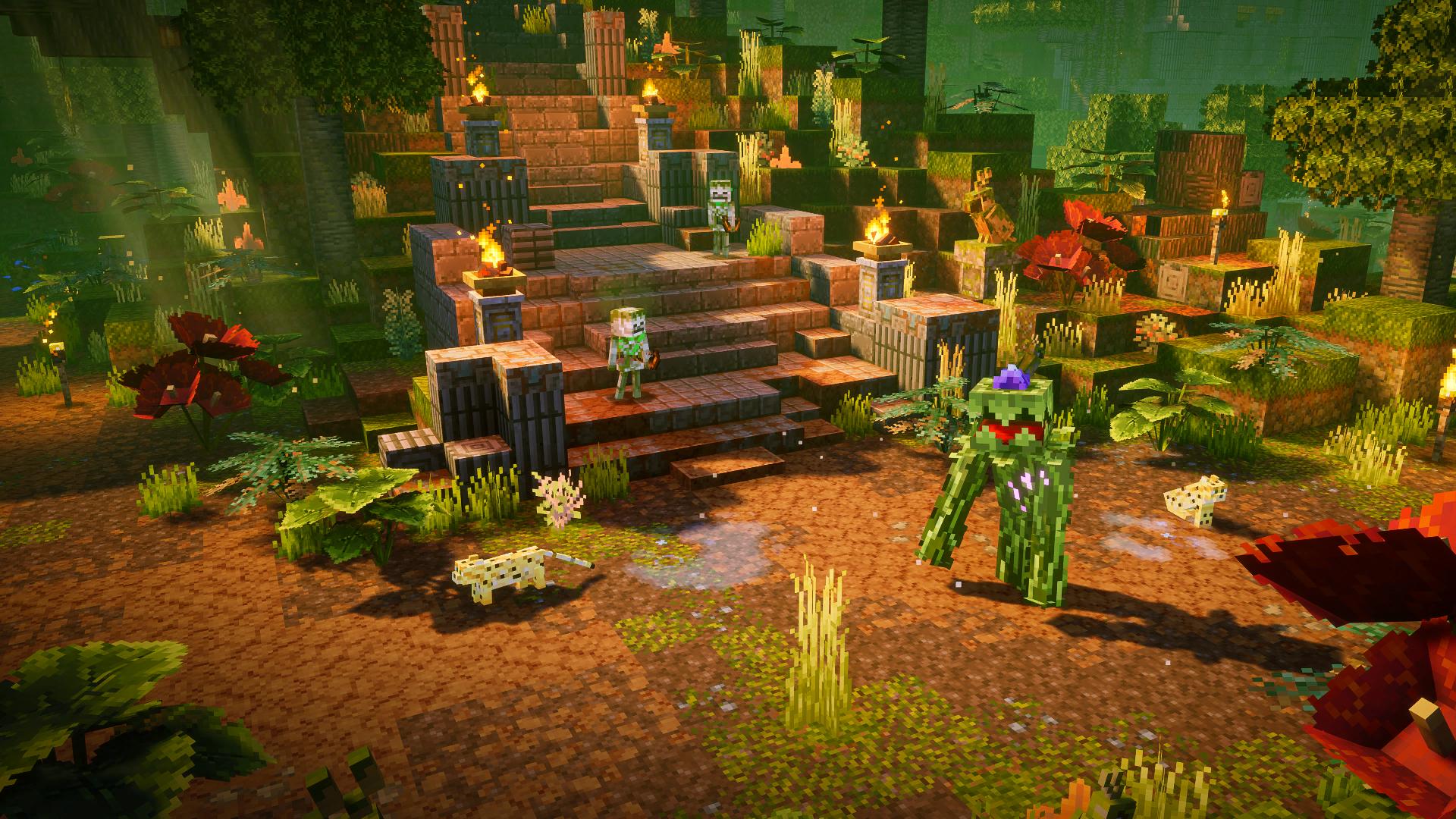 Minecraft Dungeons Jungle Awakens 1