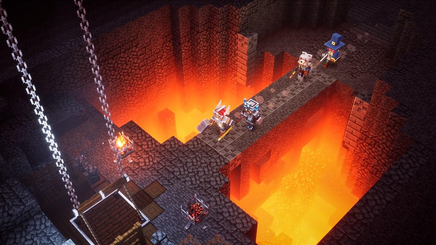 Minecraft Dungeons finalmente é lançado!