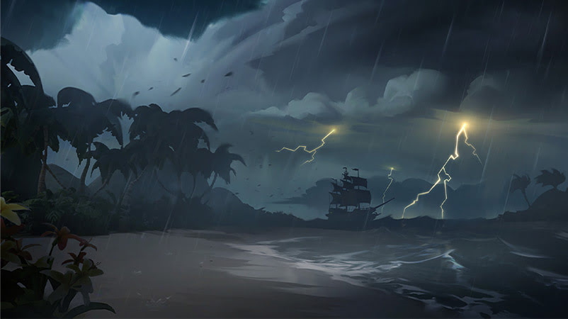 sea of thieves storm perfect dark