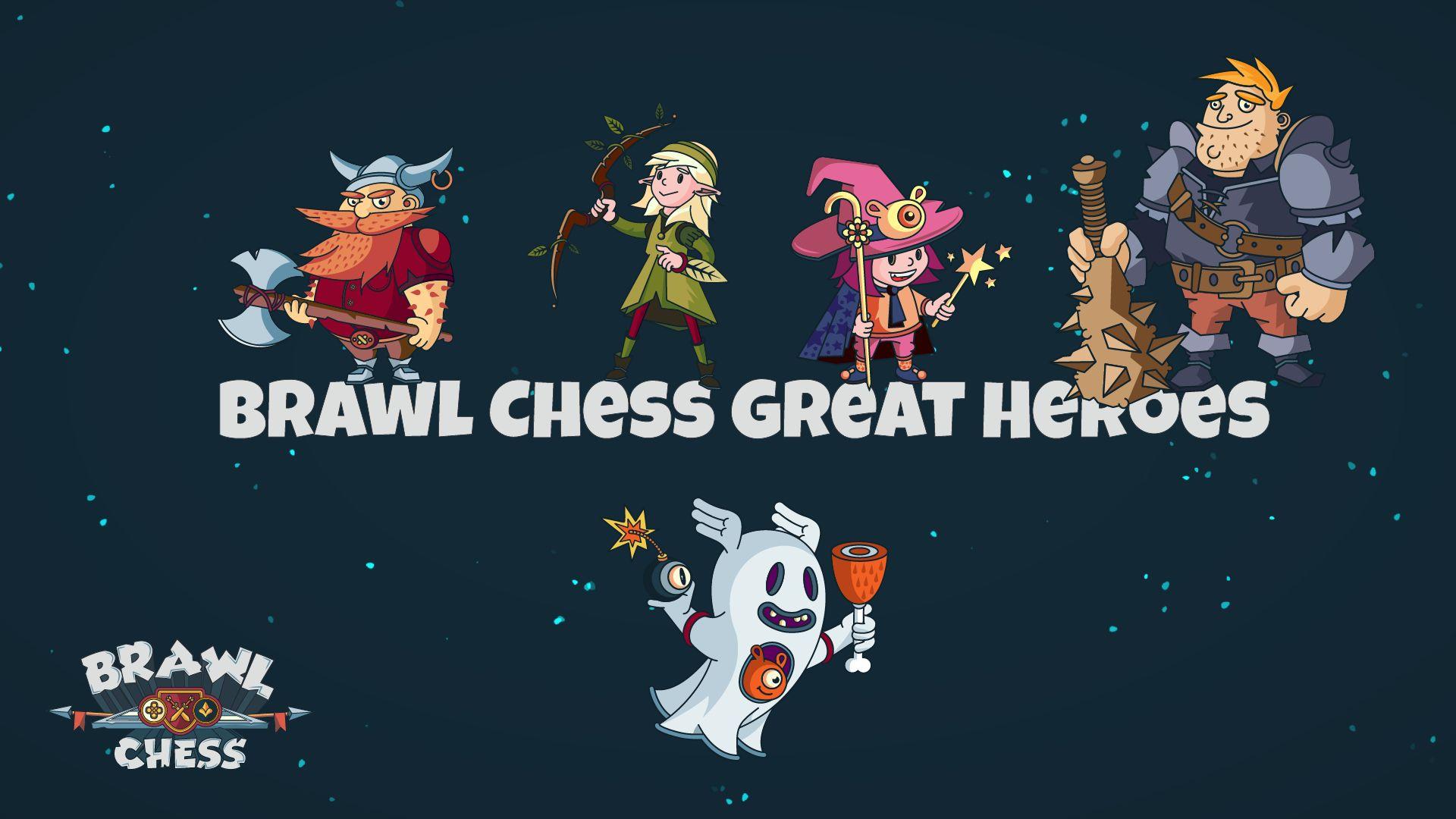 brawl chess great heroes hero