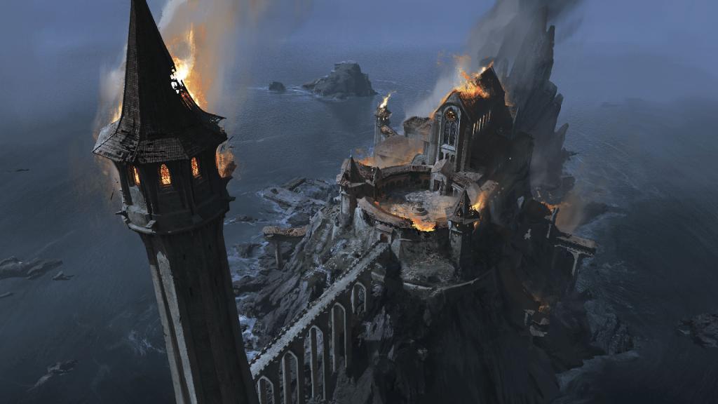 Imagem do teaser de Price of Power: Golpe de Thanedd, nova expansão de GWENT