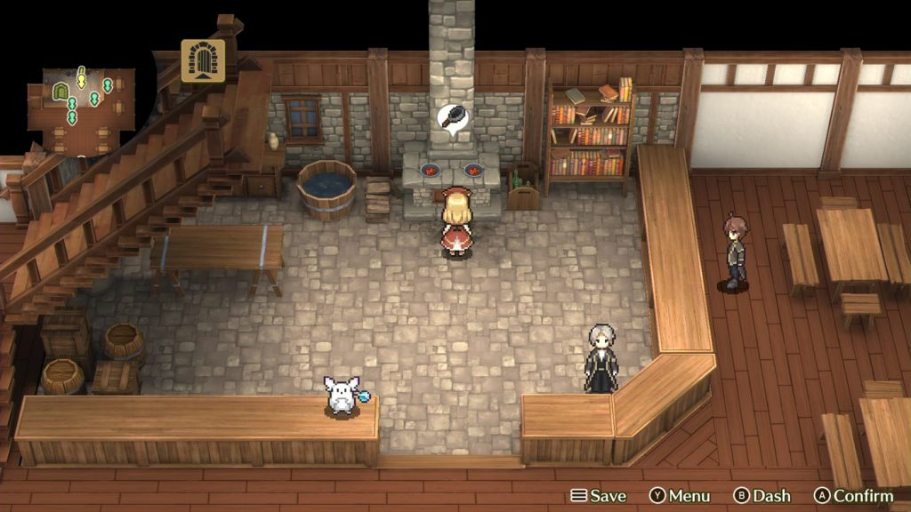 Marenian Tavern Story Patty and the Hungry God